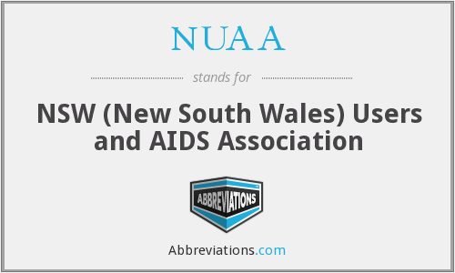 NUAA - NSW (New South Wales) Users and AIDS Association