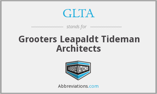 GLTA - Grooters Leapaldt Tideman Architects