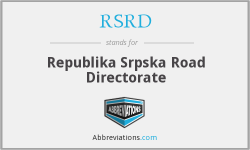 What does RSRD stand for?