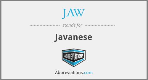 JAW - Javanese
