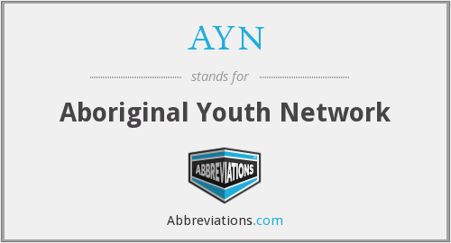 AYN - Aboriginal Youth Network