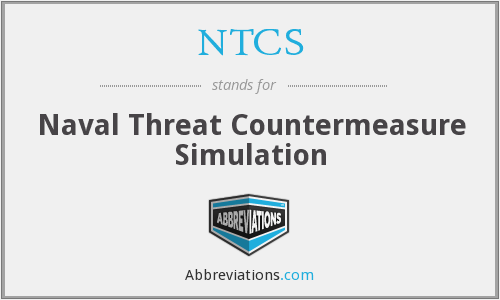 NTCS - Naval Threat Countermeasure Simulation