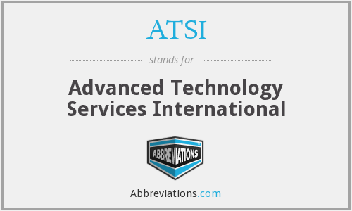 ATSI - Advanced Technology Services International