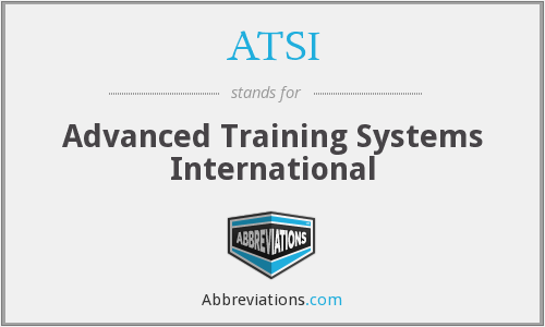 ATSI - Advanced Training Systems International