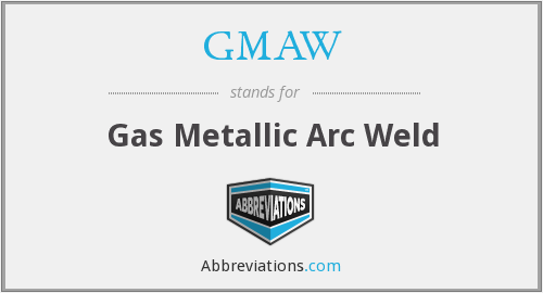 GMAW - Gas Metallic Arc Weld