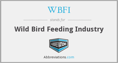 WBFI - Wild Bird Feeding Industry