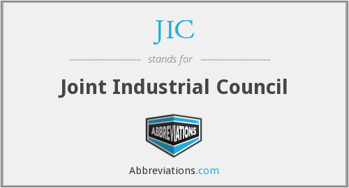 JIC - Joint Industrial Council