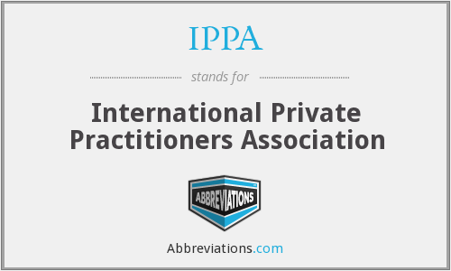 IPPA - International Private Practitioners Association