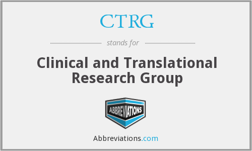 CTRG - Clinical and Translational Research Group