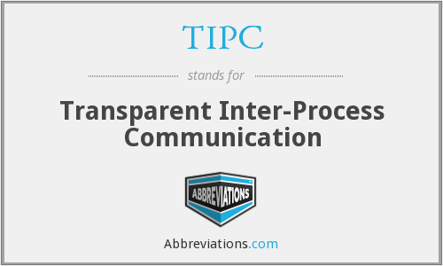 TIPC - Transparent Inter-Process Communication
