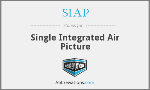 SIAP - Single Integrated Air Picture