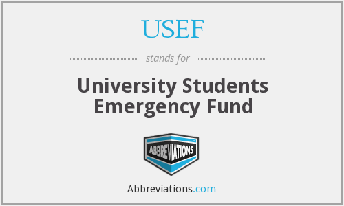 USEF - University Students Emergency Fund