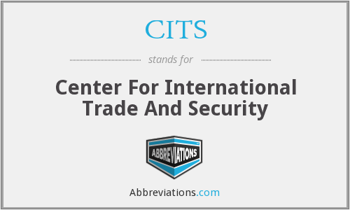 CITS - Center For International Trade And Security