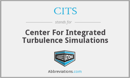 CITS - Center For Integrated Turbulence Simulations