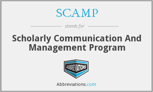 SCAMP - Scholarly Communication And Management Program