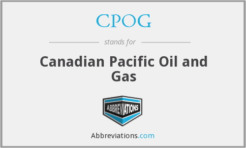 CPOG - Canadian Pacific Oil and Gas