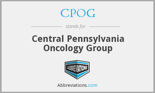 CPOG - Central Pennsylvania Oncology Group