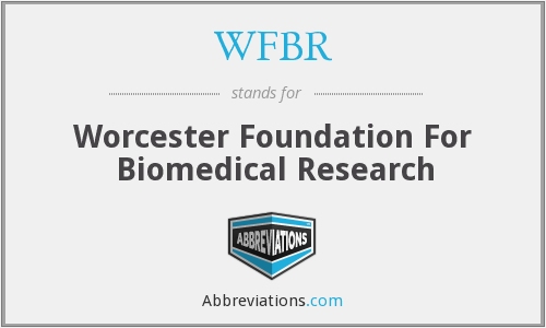 What does WFBR stand for?