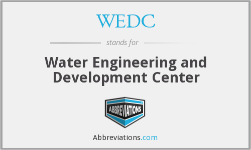 WEDC - Water Engineering and Development Center