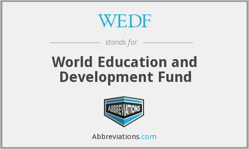 WEDF - World Education and Development Fund
