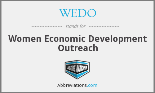 WEDO - Women Economic Development Outreach