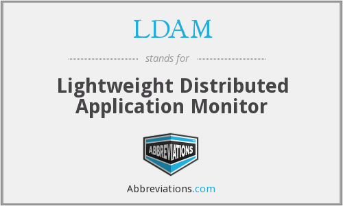LDAM - Lightweight Distributed Application Monitor