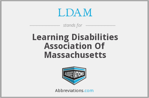 LDAM - Learning Disabilities Association Of Massachusetts