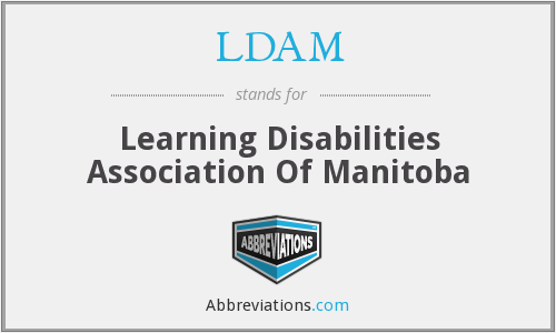 LDAM - Learning Disabilities Association Of Manitoba