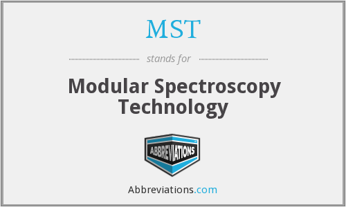 MST - Modular Spectroscopy Technology