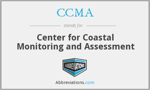 CCMA - Center for Coastal Monitoring and Assessment