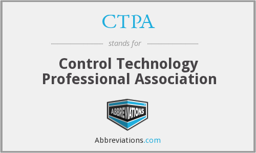 CTPA - Control Technology Professional Association