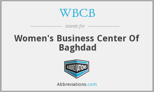 What does WBCB stand for?