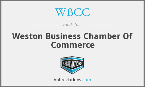 WBCC - Weston Business Chamber Of Commerce