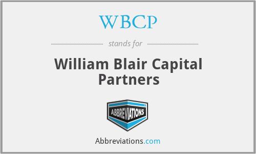 WBCP - William Blair Capital Partners
