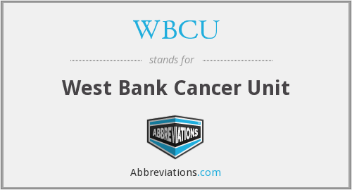 What does WBCU stand for?