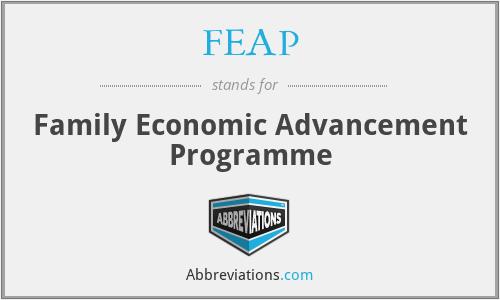 FEAP - Family Economic Advancement Programme