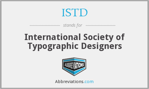 ISTD - International Society of Typographic Designers