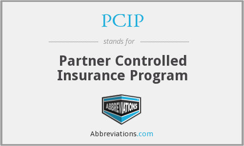 PCIP - Partner Controlled Insurance Program