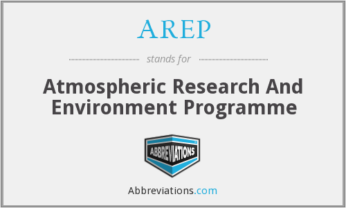 AREP - Atmospheric Research And Environment Programme