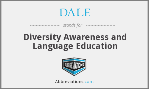 DALE - Diversity Awareness and Language Education