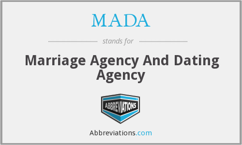 MADA - Marriage Agency And Dating Agency