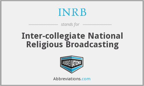 INRB - Inter-collegiate National Religious Broadcasting