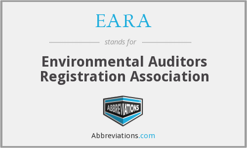 EARA - Environmental Auditors Registration Association