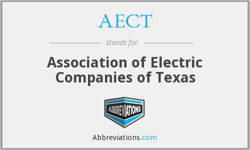 AECT - Association of Electric Companies of Texas
