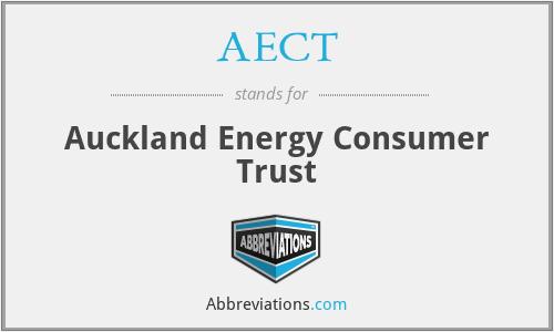 AECT - Auckland Energy Consumer Trust