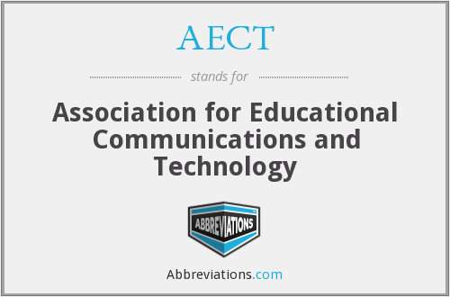 AECT - Association for Educational Communications and Technology
