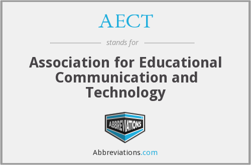 AECT - Association for Educational Communication and Technology