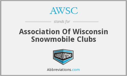 AWSC - Association Of Wisconsin Snowmobile Clubs