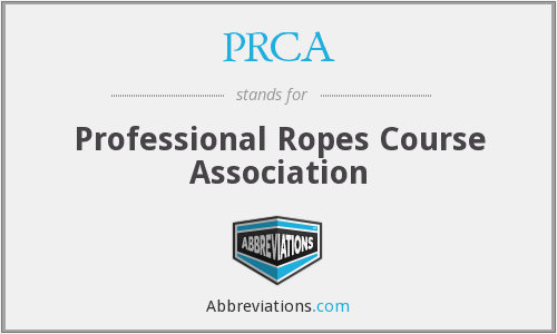 PRCA - Professional Ropes Course Association