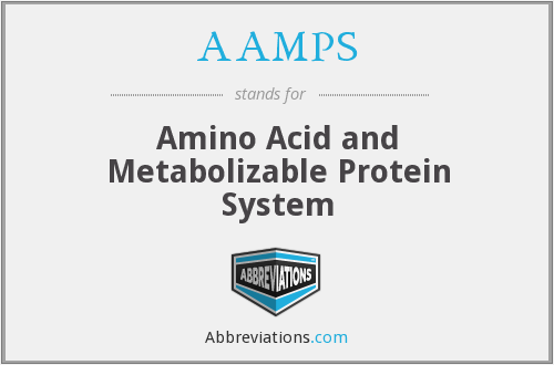AAMPS - Amino Acid and Metabolizable Protein System